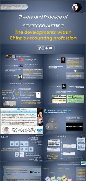 中国会计公司发展