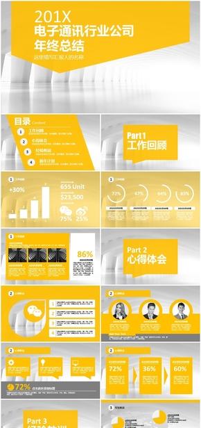 电子通讯行业公司年终总结及新年计划