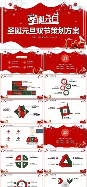 圣诞节元旦主题活动PPT,圣诞PPT,圣诞活动,元旦活动