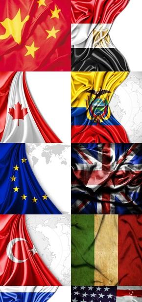 各国国旗旗帜图片