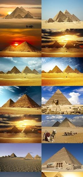 埃及金字塔风景壁纸
