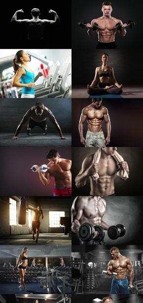 体育运动健身图片二