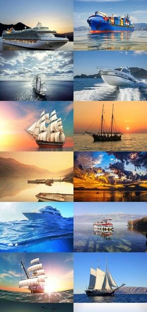 水上船舶风景图片