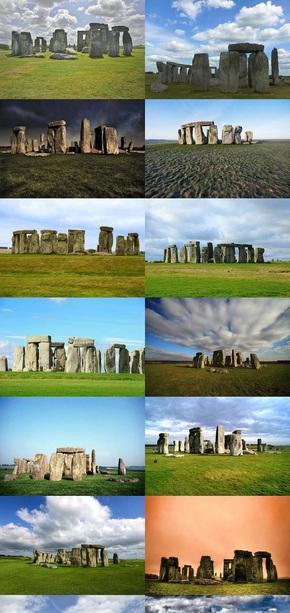 英国巨石阵风景图片