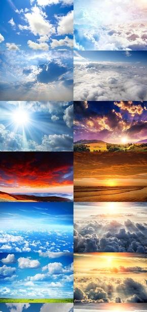 天空云海素材图片