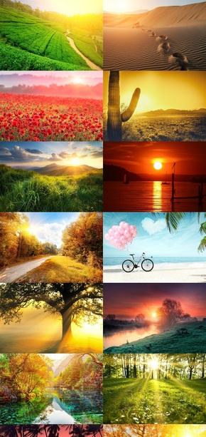 大自然风景素材背景图片
