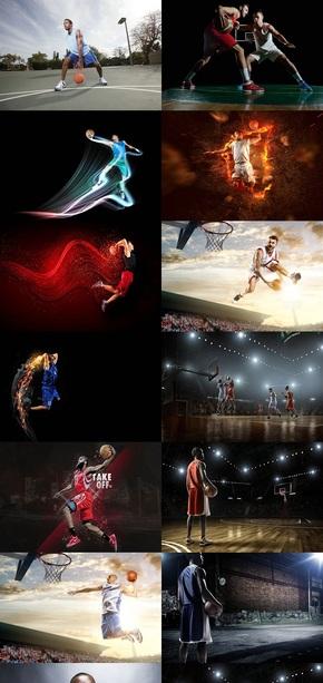 篮球运动背景图片