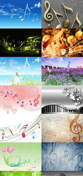 音乐音符素材图片