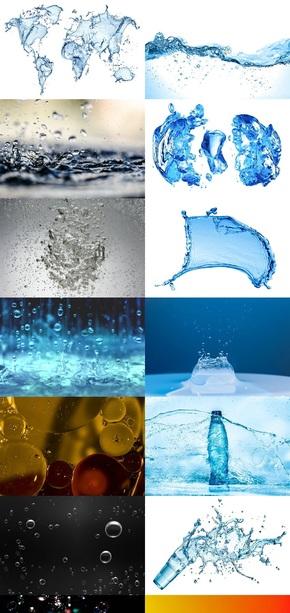创意水纹素材图片二