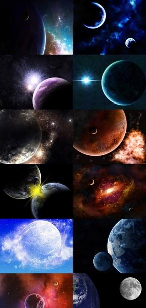 宇宙星球梦幻壁纸
