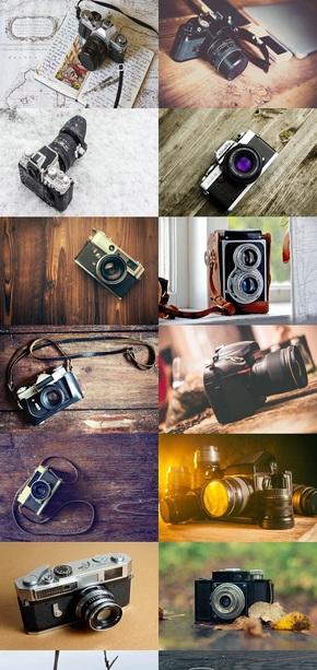 摄影器材相机素材
