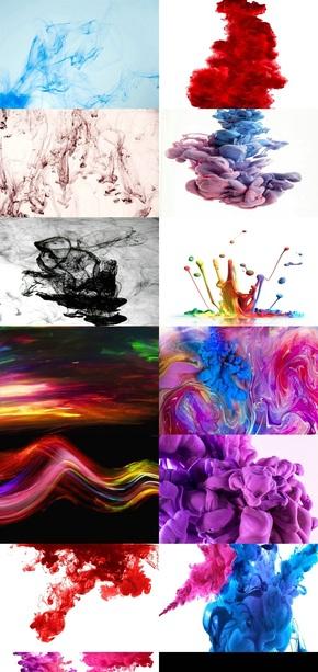 水彩水墨效果图片