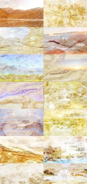 大理石纹风景背景墙图片