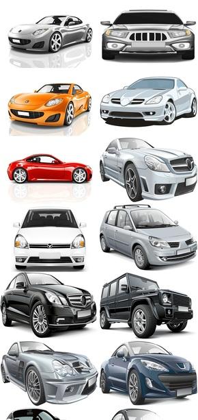 3D汽车模型素材图片