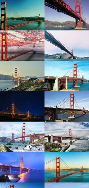 美国金门大桥风景壁纸