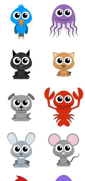 介绍小动物ppt模板