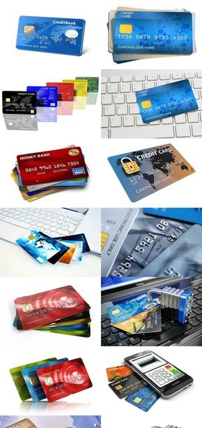 金融理财信用卡素材图片