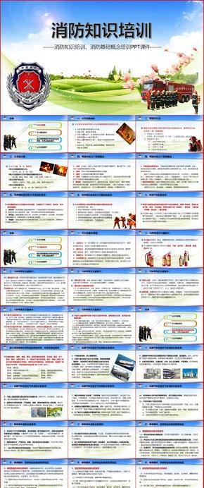 消防知识培训消防基础概念培训PPT