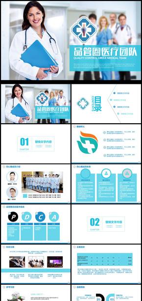 医疗团队介绍医学产品宣传PPT模板