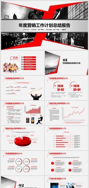 2018年度市场营销经营报告模板