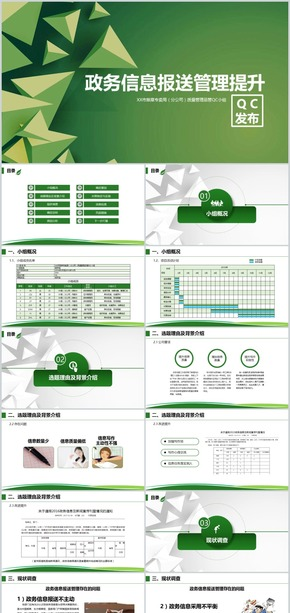 企业政务信息报送提升管理QC发布