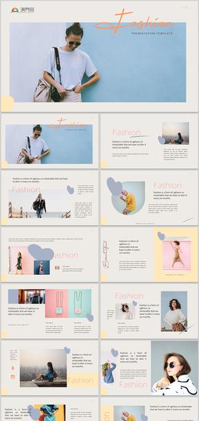 时尚杂志品牌宣传时装时尚品牌宣传时尚风格时装品牌宣传时尚PPT