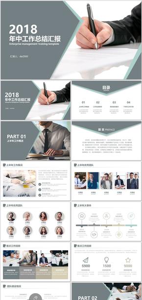 創意年中匯報商務工作匯報工作總結工作計劃 工作總結 企業計劃 企業匯報 工作匯報 總結匯報