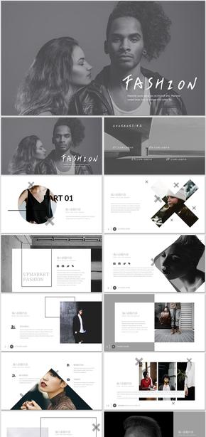时装服饰艺术时尚广告设计时尚风格服饰广告画册排版服装设计