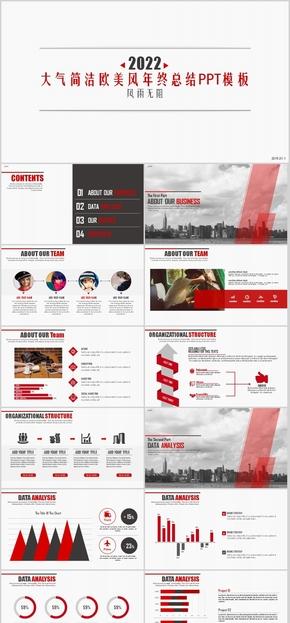 电子 软件 互联网 创业融资 商业计划书 大气 外企咨询报告 商业咨询 企业年会 汇报 图表 红色