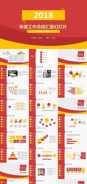 红色大气框架完整年终总结工作汇报工作总结2017工作计划月度总结季度总结述职报告个人工作总结PPT