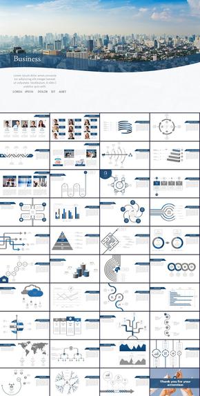 高端完整欧美工作报告商务汇报新年工作计划年中年终工作总结述职报告ppt模板
