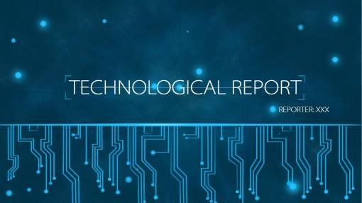ppt行业大赛--科技,电子,信息模板