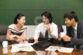 商业、商务、金融人物图片素材