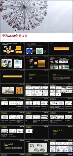 24.【动画参考学习模板】科技产品ws330宣传片创意方案学习模板