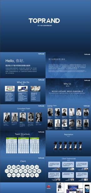D-06-TOPRAND公司简介企业信息技术展示商业呈现深圳