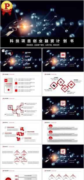 【顶级设计】科技项目融资计划书模板