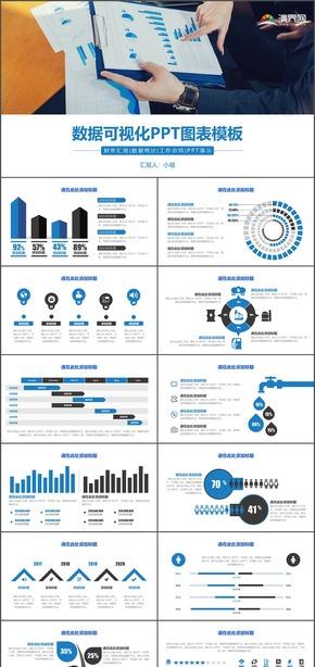 数据可视化PPT图表模板
