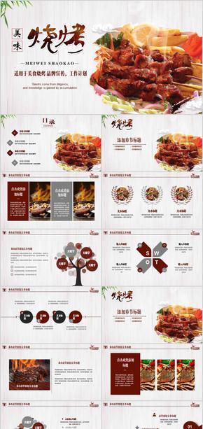 烧烤行业绿色餐饮工作总结企业宣传