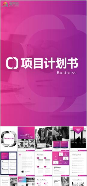 A4竖版广告公司简介工作总结时尚创意浪漫产品说明书企业简介项目招标商业计划ppt模板