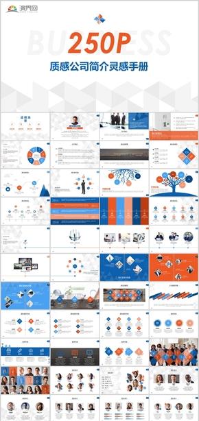 250页数据分析商务益智资源金融投资网络营销数据统计动态图表关系图表流程柱形饼形通用信息图表合集模板
