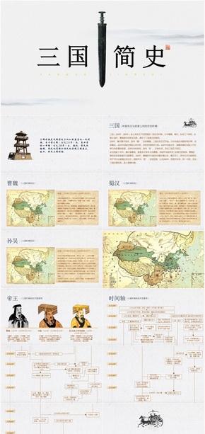 三国历史简史PPT课件