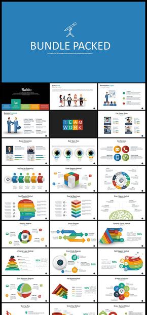 企业商务工作总结汇报计划总结等商务通用PPT模板