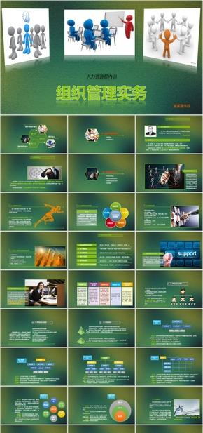 企业组织管理培训动态完整PPT课件