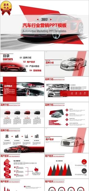 汽车行业营销PPT