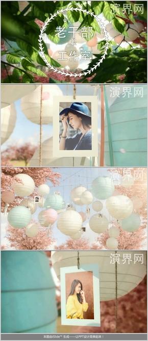 [下载后为超清]唯美浪漫圣洁的照片展示AE模板