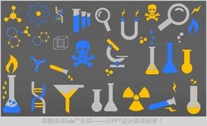 化学化工行业相关图标全套