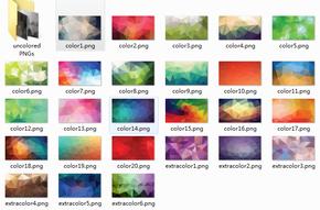 全系列低多边形背景图片打包